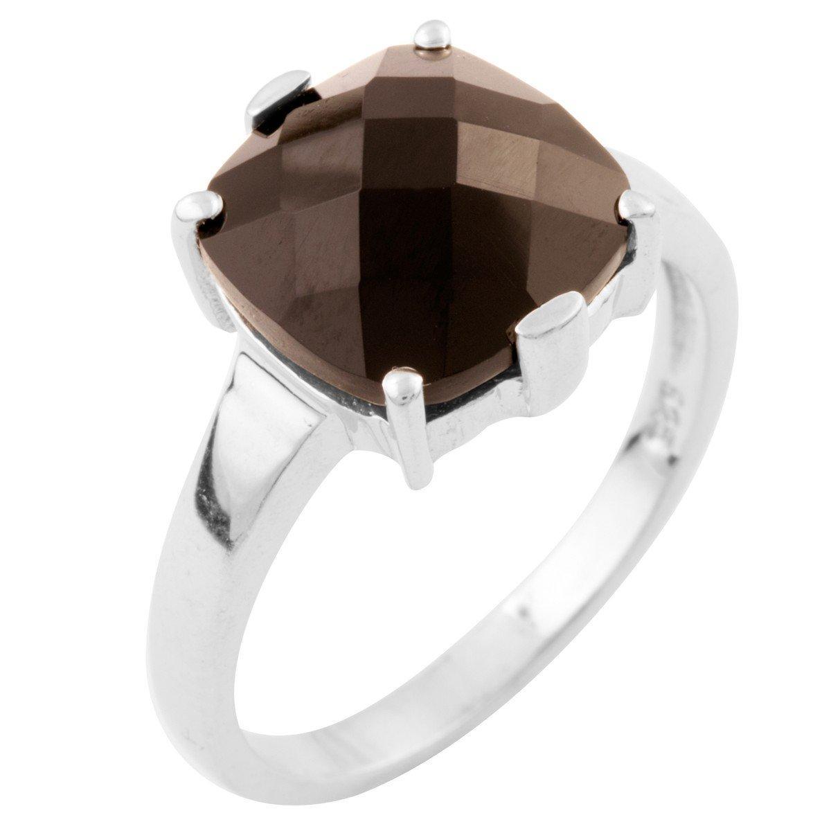 Серебряное кольцо DreamJewelry с натуральным ониксом (1633519) 17 размер