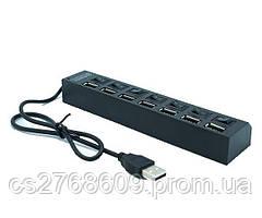 USB Hub Hi-speed (7 переключателя)