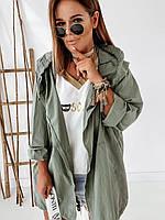Ветровка  женская  модная удлиненная..Новинка 2020, фото 1