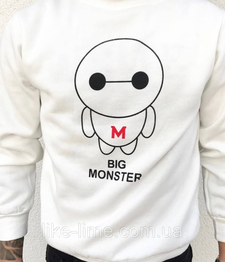 Мужской стильный батник ,мужской свитшот «Monster»
