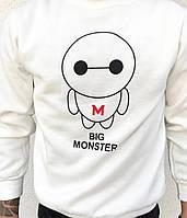 Мужской стильный батник ,мужской свитшот «Monster», фото 1