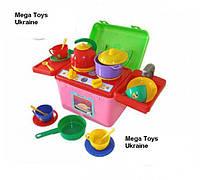 Кухня игрушечная в саквояже галинка 8