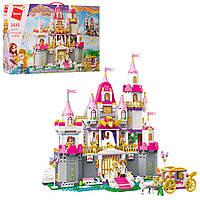 Конструктор для девочек  BRICK  Princess Leah замок принцессы.