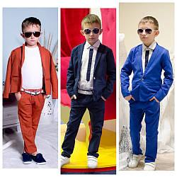 Костюм для мальчика классический двойка льляной,  размеры на рост 98 - 104, 134-140 Распродажа!