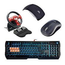 Миші, клавіатури, килимки, маніпулятори