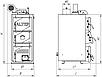 Altep Classic Plus 24 кВт котел на твердому паливі з електронним управлінням процесом горінням, фото 7