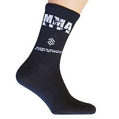 Носки спортивные компрессионные (высокая резинка ~20 см) подарочные Firepower MMA life
