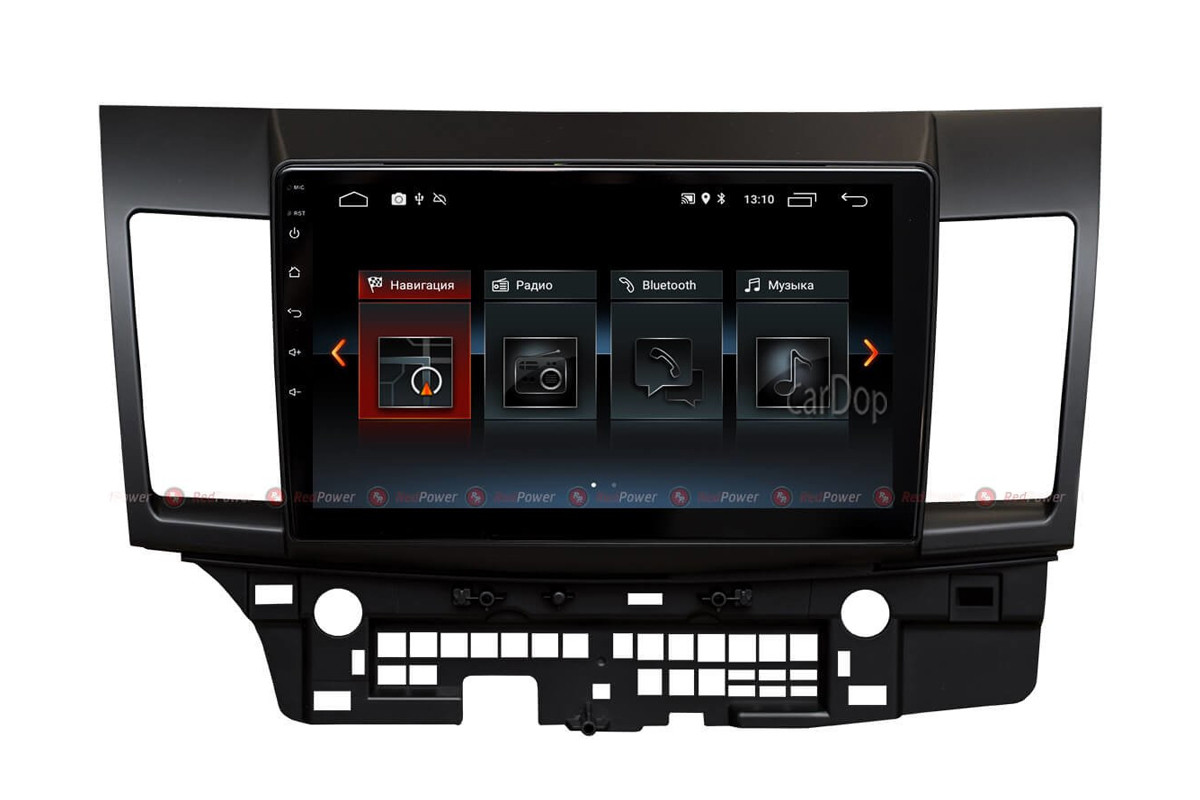 Штатна магнітола Mitsubishi Lancer X RedPower 30037 IPS