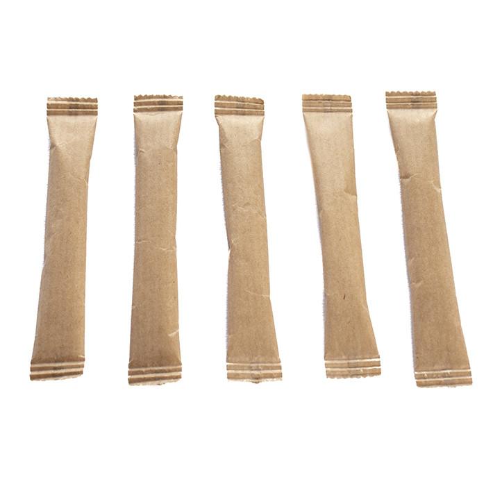 Сахар в стиках в крафтовой бумаге (200 шт по 5г)