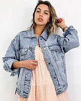 Джинсовый пиджак 5465 (OS)