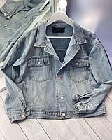 Джинсовый пиджак 5466 (OS)