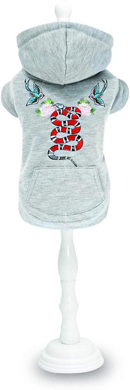 Кофта с капюшоном для животных Croci STREET SNAKE 25 см