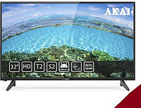 "Телевизор Akai UA32HD19T2S 32"" Black"