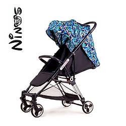 Детская коляска Ninos Mini Blue jungle 5.8 кг