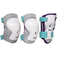 Комплект защиты 3 play для катания на роликах, скейтборде или самокате дет.OXELO разных цветов