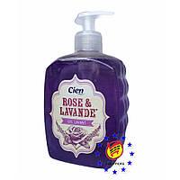 Жидкое мыло Cien Rose&Lavande 500мл