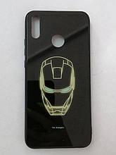 Чехол Huawei Y9 2019/Honor 8x LUMINOUS GLASS Ironman