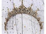 Колір античне золото з кристалами (7 см), фото 3