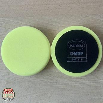 """Полировальный круг на липучке средней жесткости Farecla G-Mop 6"""" Dry Use Желтый"""