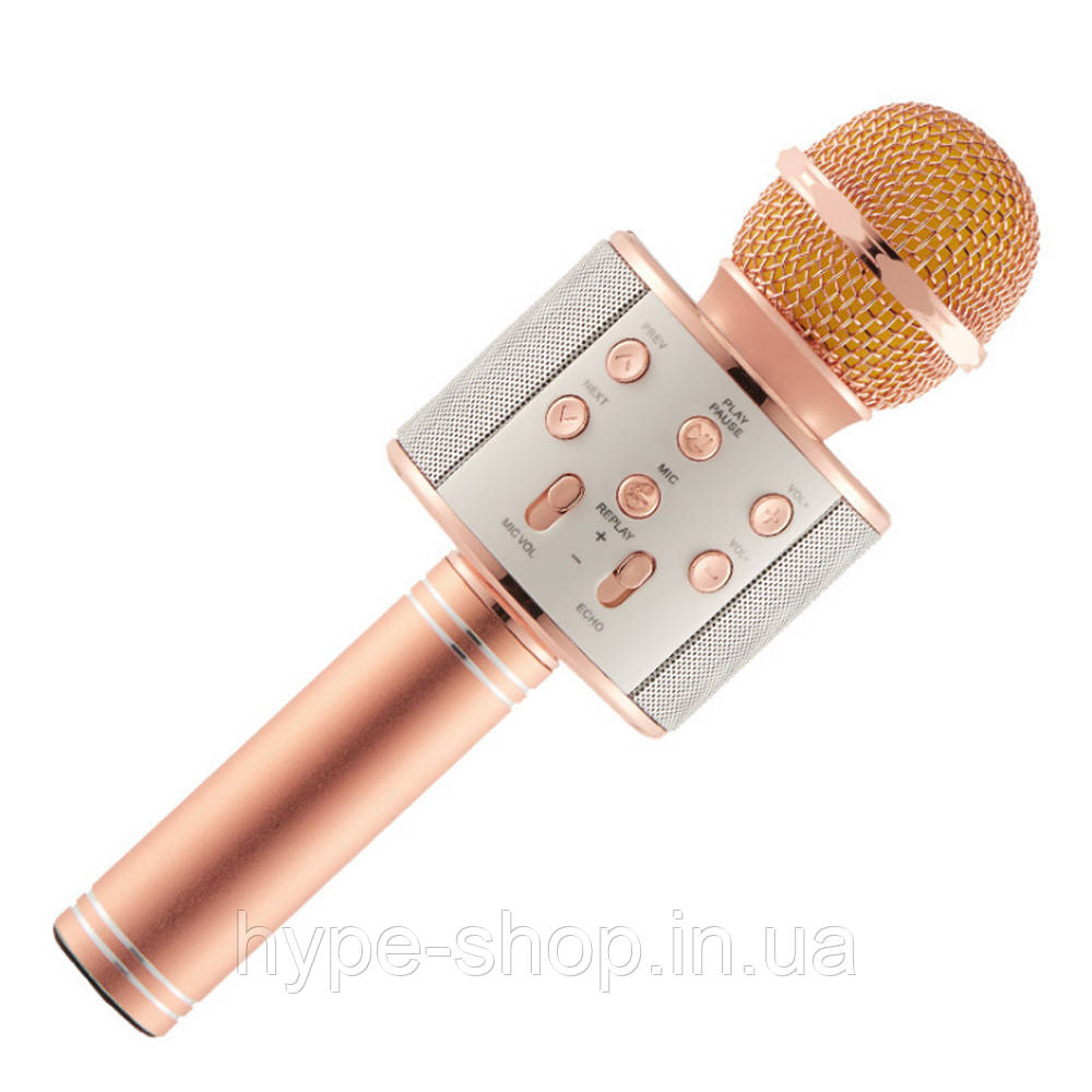 Караоке микрофон KTV WS 858 Roze