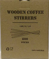 Мешалка деревянная 140х5 мм (1000 шт/уп)