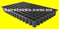 Кассеты для рассады 104 ячейки, Польша, размер кассеты 360х560мм, глубокая, толщина стенки 0,75мм