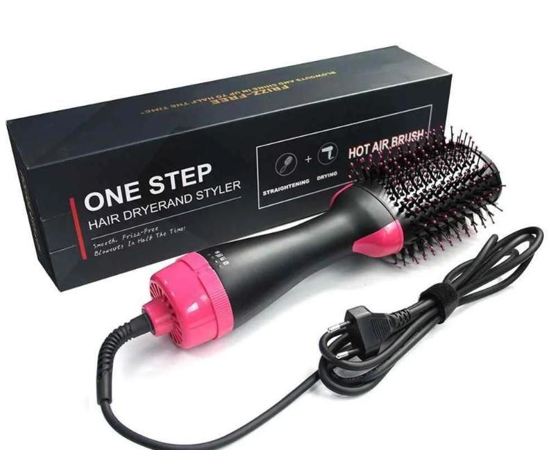 Эллектро фен щетка One Step HAIR DRYER AND STYLER 3 В 1 PR4