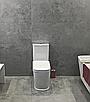 Унитаз компакт напольный с твердым сиденьем slow-closing Volle Puerta Rim 13-16-075 белый, фото 3