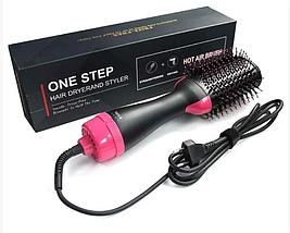 Эллектро фен щетка One Step HAIR DRYER AND STYLER 3 В 1 PR4, фото 2
