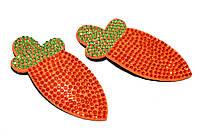 """Дитячі хлопавки фрукти """"морквини"""" помаранчеві 2 шт, фото 1"""