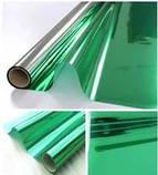 Пленка тонировочная защита от УФ-лучей, пленка зеленая для любых стекол, фото 3