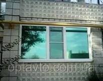 Пленка тонировочная защита от УФ-лучей, пленка зеленая для любых стекол