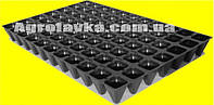Кассеты для рассады 77 ячеек, утолщённая, Польша, размер кассеты 400х600мм, толщина стенки 0,75мм