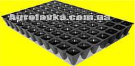 Кассеты для рассады 77 ячеек, утолщённая, Польша, размер кассеты 40х60см, толщ.стенки 0,75мм (мин.заказ 15шт)