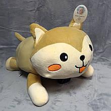 Плед - м'яка іграшка 3 в 1 ( Котик бежевий)