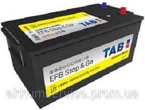 Аккумулятор автомобильный TAB EFB Truck 240AH 3+ 1250A (455612)