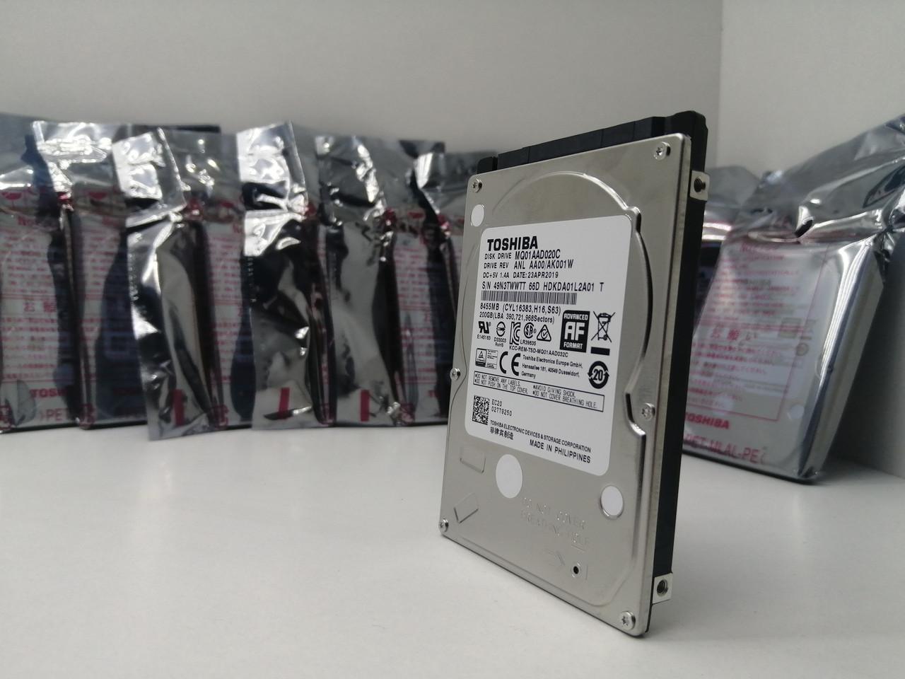Жорсткий диск Toshiba 200gb