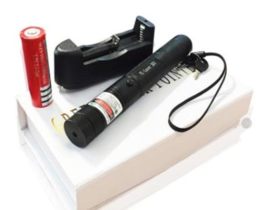 Аккумуляторная лазерная указка, фото 2