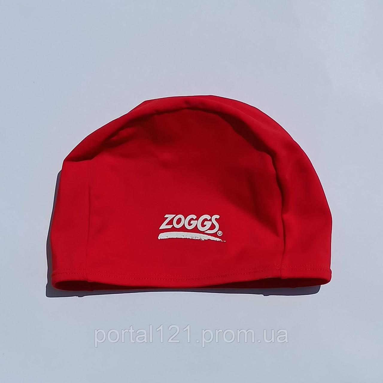 Шапочка для плавання Zoggs Deluxe Stretch Cap червона