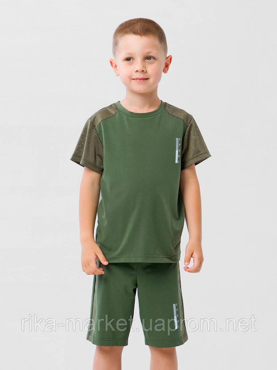 Футболка для мальчикаТМ Смил, 110605/110606   6-14 лет