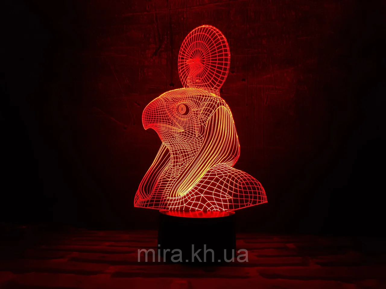 """Сменная пластина для 3D светильников """"Ра"""" 3DTOYSLAMP"""