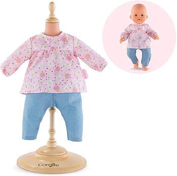 Набір одягу блуза і брюки Corolle Весняні квіти 36 см 9000140090