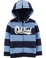 Толстовка Детская Oshkosh на Флисе 110 см Синий-Голубой 37623814F19
