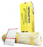 Мат нагревательный IN-THERM / 6.4  м² / 1280 Вт / теплый пол электрический  под плитку / Чехия
