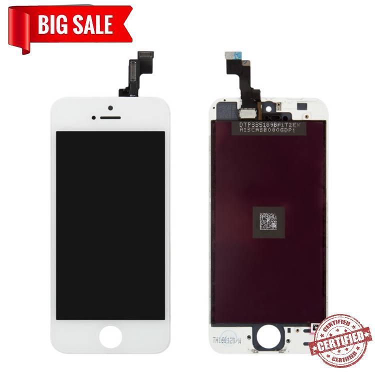 Модуль (сенсор + дисплей) Apple iPhone 5s / iPhone SE білий