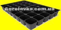 Кассеты для рассады 40 ячеек, Польша, размер кассеты 360х560мм Утолщенная, толщина стенки 0,75мм