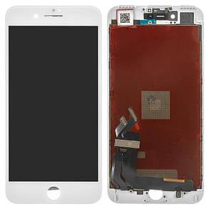 Модуль (дисплей + сенсор) для Apple iPhone 7+ білий, фото 2