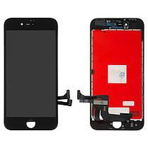 Модуль (сенсор + дисплей) для Apple Iphone 8 чорний, фото 2