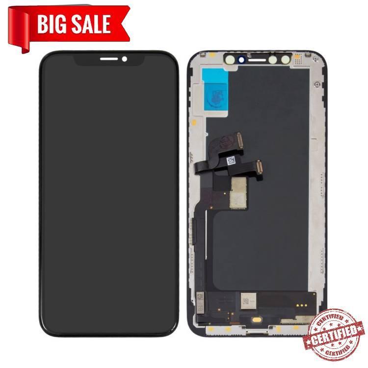 Модуль (сенсор + дисплей) для Apple Iphone X черный