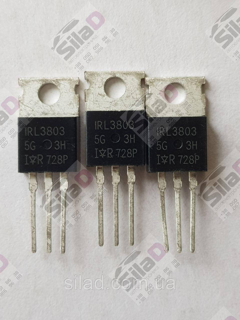 Транзистор IRL3803PBF IRL3803 International Rectifier (IR) корпус TO-220AB 30V 120A